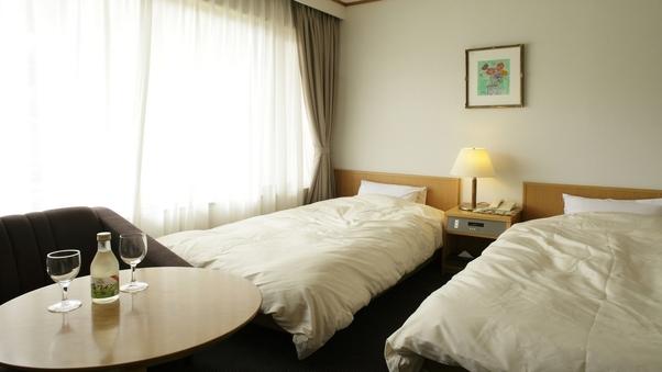 【禁煙ツイン】西館洋室ベッド2台(バス・トイレ付)
