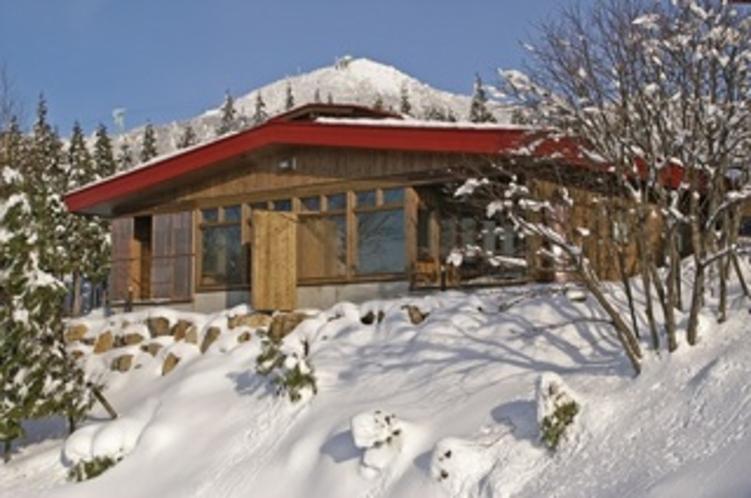 冬・露天の湯 外観