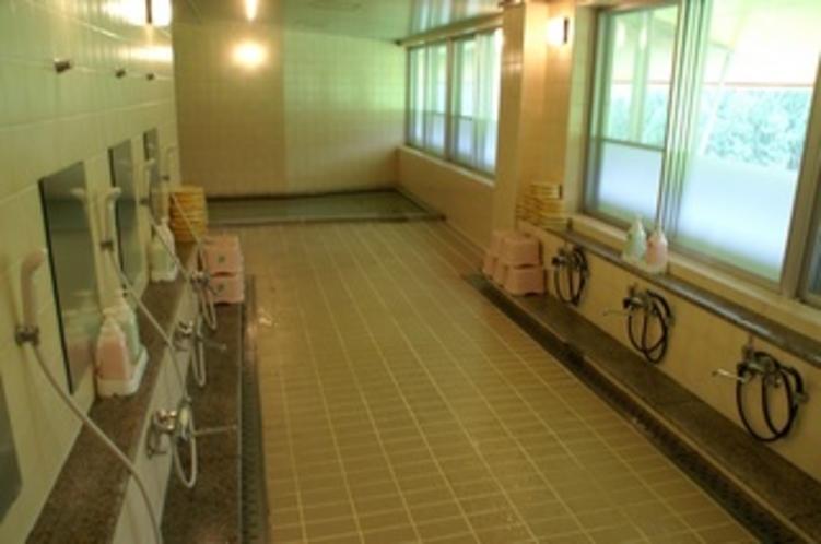 女性館内大浴場 ヘルストン温泉 その1