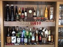 バーカウンター お酒コレクション