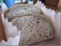 朝食の自家製パン 一例