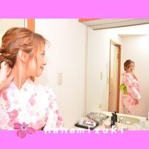 女子旅 色浴衣④
