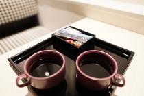 アメニティ お茶とコーヒー