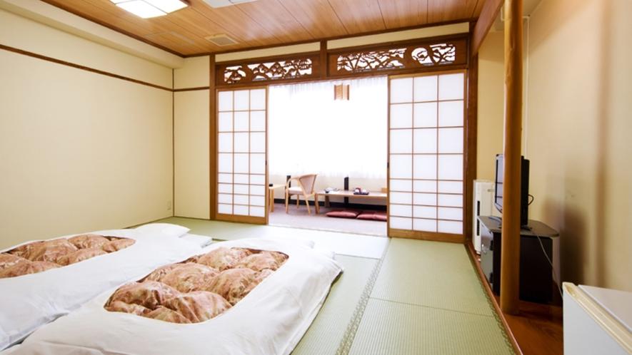 *【和室一例】ゆったりお寛ぎいただける和室タイプのお部屋。
