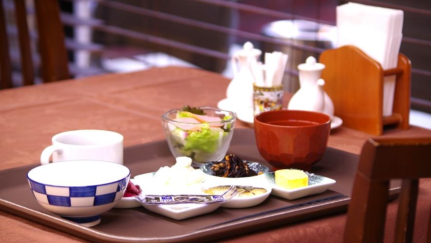 *【朝食一例】和定食をご用意