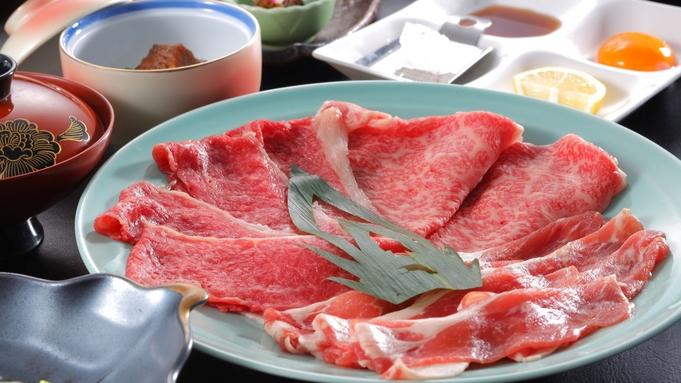 【牛×豚の肉三昧】三種の肉の食べ比べ!米沢牛・黒毛和牛・米沢豚の「やきしゃぶ」膳