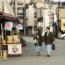 【小野川温泉街/グルメ】まずはお隣の「つた屋」「丸田屋」へ