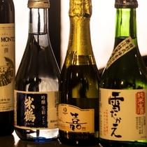 米どころ山形ならでは!美味しい地酒を多数ご用意しております。当館自慢の料理に合わせてお楽しみください