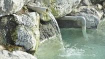 【露天風呂】源泉掛け流しの肌に優しいお湯です。