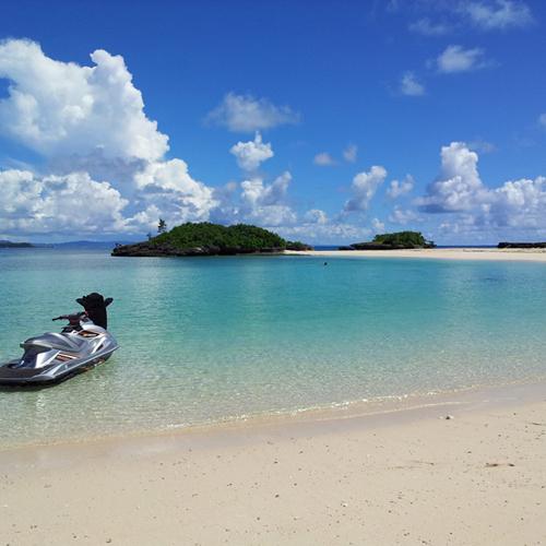 *【ビーチ】海の青と空の青!美しい自然に癒される!