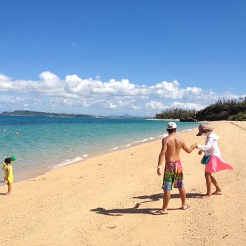 *【ビーチ】美しい沖縄の海を満喫しよう♪
