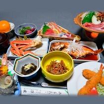 *スタンダード会席一例/伊豆の駿河湾で獲れた新鮮な魚介類が味わえる約12品の会席料理。