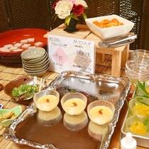 <朝食>デザート