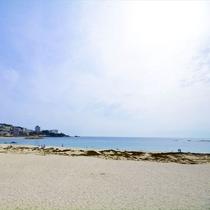 <白良浜>