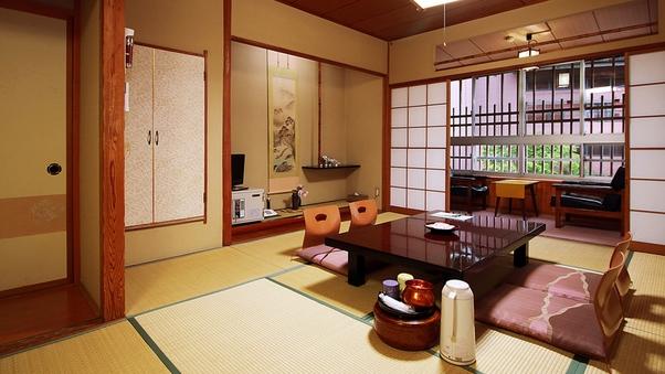 8〜12畳までのゆったり和室◆広縁付き【禁煙】※トイレなし