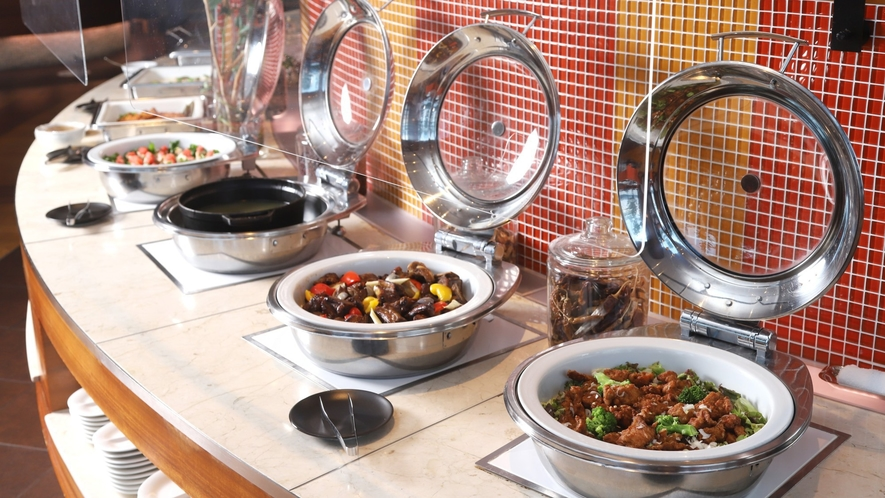 【ビュッフェレストラン「HAPO」】和食・洋食にとらわれないビュッフェスタイル(イメージ)