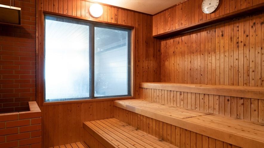 【3F女性大浴場「マッネシリ」】女性大浴場にはサウナもご用意