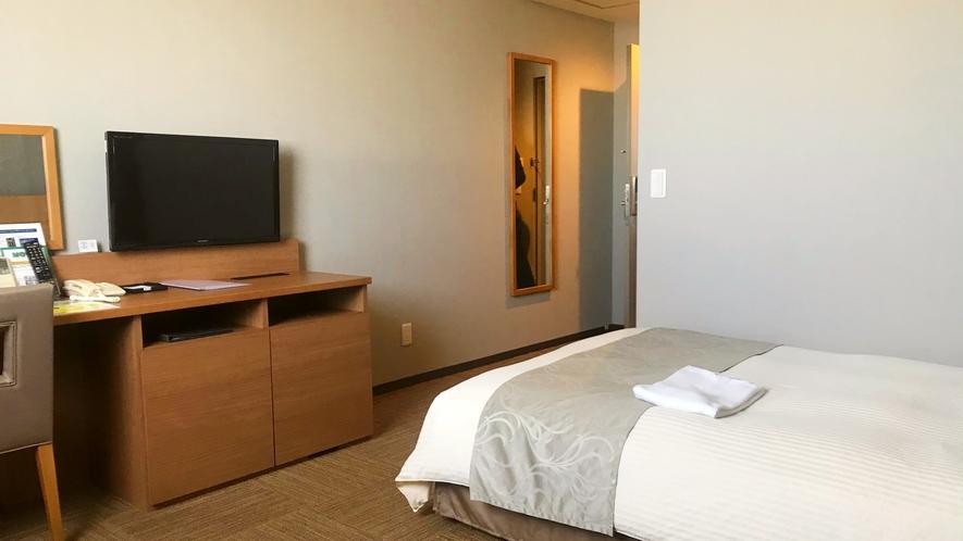 【全室20平米以上でゆったり♪】シングルルーム(120cm幅ワイドベッド)