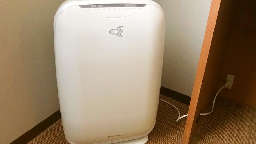 【全室20平米以上でゆったり♪】空気清浄機完備!