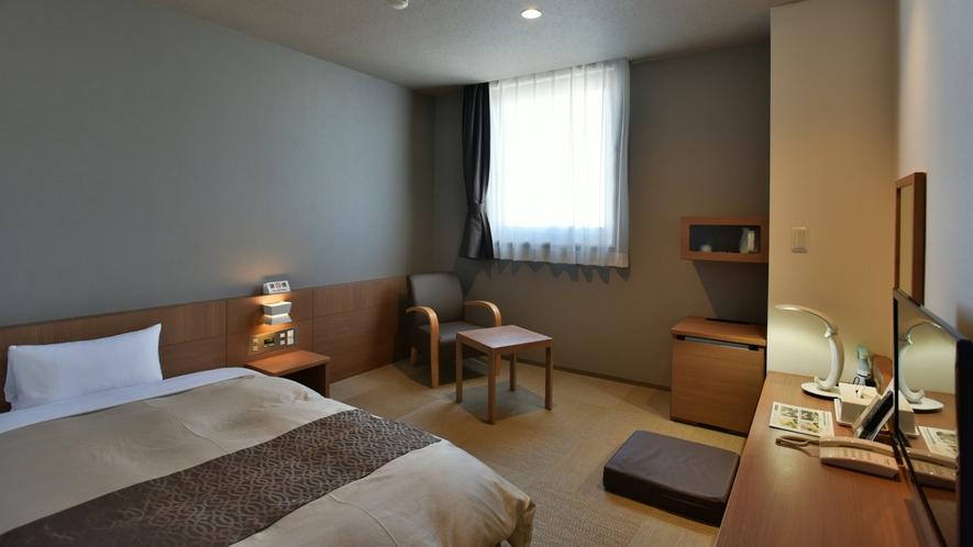 【全室20平米以上でゆったり♪】人気の和モダンルーム(120cm幅ワイドベッド)