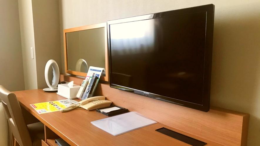 【全室20平米以上でゆったり♪】デスクもあり、ビジネスでの利用も快適!