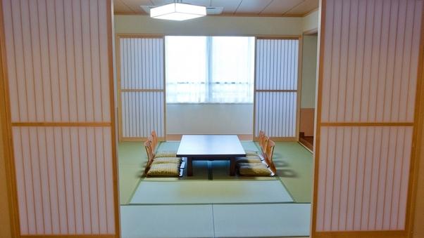 ■リニューアル和室9〜12畳(広縁付)/鍵付ロッカー