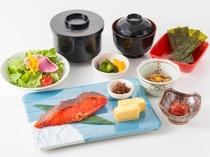 【ご朝食の一例】和食