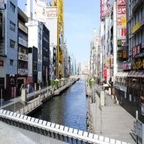 【アクセス】なんば・心斎橋のアクセスに便利なホテルです。