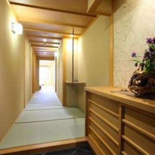 4階数寄屋風特別室の玄関