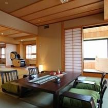 4階数寄屋風の露天風呂付き特別室