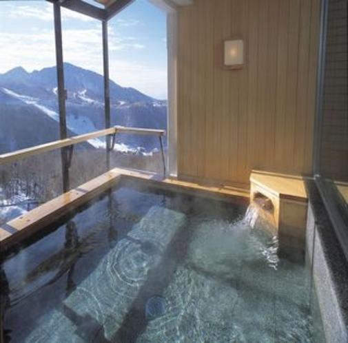 絶景の展望露天風呂