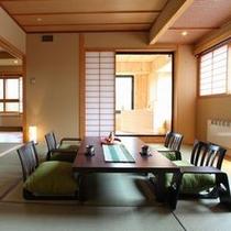 4階数寄屋風特別室と檜風呂