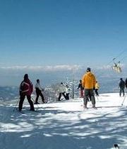 東館山山頂の人々
