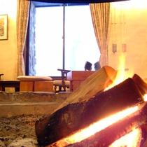 館内イメージ 暖炉