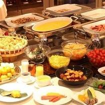 朝食:和洋バイキング ※イメージ