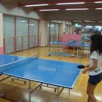 【卓球コーナー】家族や友達と卓球大会♪