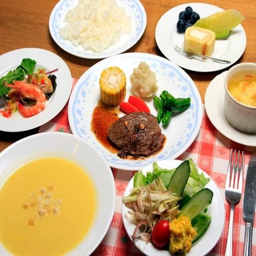 【夕食】洋食