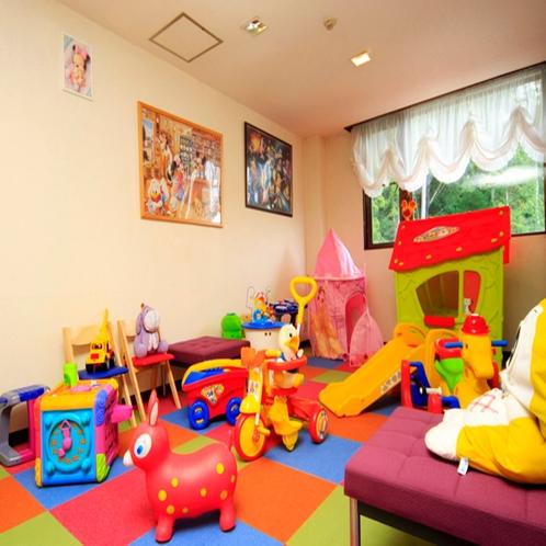【プレイスペース】室内用遊び道具がいっぱい!