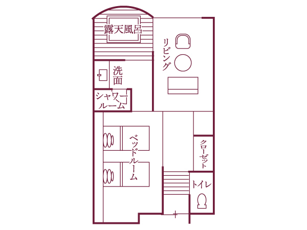 瑞穂タイプ(41平米)/間取り図
