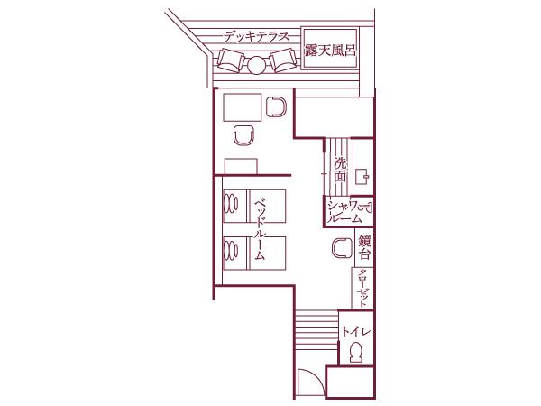 明見Aタイプ(442号室・48平米)/間取り図