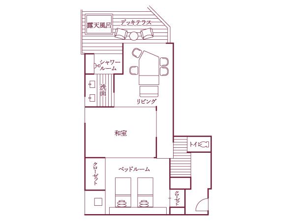 福地Aタイプ(441号室・88平米)/間取り図