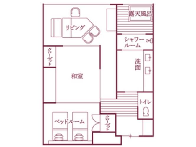 福地Bタイプ(543号室・70平米)/間取り図