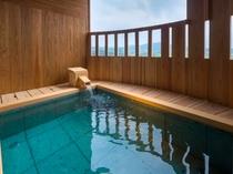 福地Bタイプ/富士山と対座する温泉露天風呂(写真は544号室)