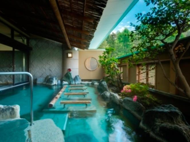 赤富士大浴場露天(殿方)/鐘山苑の大浴場もお愉しみ下さい