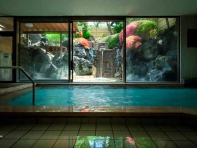 元湯庭園風呂内湯(殿方)/鐘山苑の大浴場もお愉しみ下さい