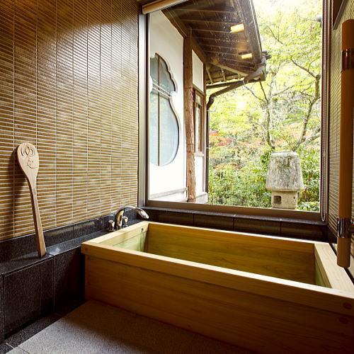 ■離れの浴室