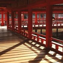 ■厳島神社 回廊