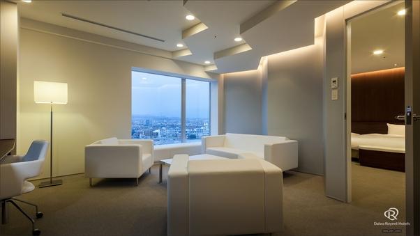 【禁煙】最上階11階・スイートルーム◆63平米