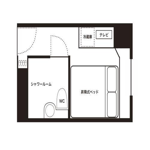 【ダブルルーム】見取り図