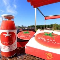 *【ファーマーズマルシェ】濃厚なトマトジュースからカレーまで!その他庄内地方の特産品もございます♪
